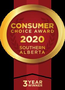 Consumer Choice Award 2020 Southern Alberta